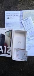 Samsung A12 novo na caixa