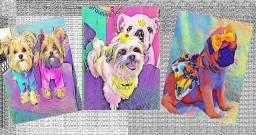 Quadros Decorativos Artísticos de seu pet