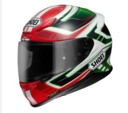Capacete Shoei NXR Valkyrie TC-4 Vermelho/Branco/Verde