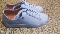 Tênis camurça Flex azul