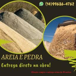 Título do anúncio: Areia e Pedra