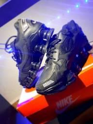 Título do anúncio: Tênis Nike Shox Tl 12 Molas Preto