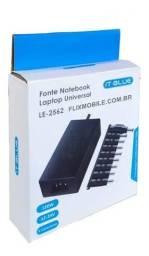 Fonte Universal para Notebook it-blue 10 conectores 12-24 V 120w