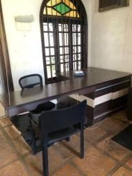 Conjunto escritório completo com 4 módulos