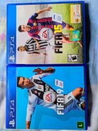 Vendo 2 jogos PS4 100,00