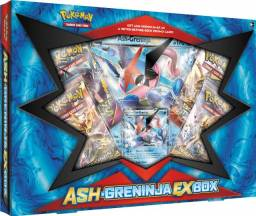 Box Pokemon Ash Greninja Ex