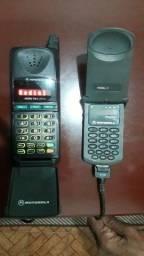 Dois Telefone celular para colecionadores