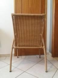 Título do anúncio: Cadeira de palha sintética
