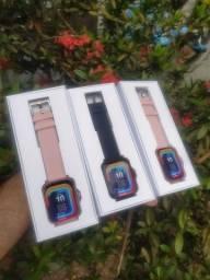 Promoção smartwatch p8 plus/Y20 relógio inteligente