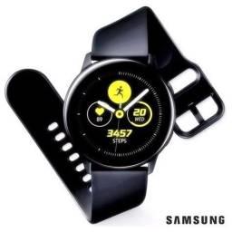 Galaxy Watch Active Preto - ZERO LACRADO NA CAIXA