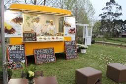 Título do anúncio: Food Trailer - Waffles (Negócio Completo)