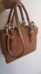 Bolsa de couro, Santa Lolla, R$130,00