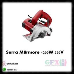 Título do anúncio: Trabalho: serra mármore 1200w até 3x sem juros nos cartões .. garanta já a sua