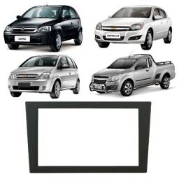 Moldura De Painel 2 Din Multimidia Dvd Mp5 Vectra Corsa Meriva Montana