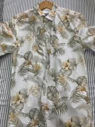 Título do anúncio: Camisa floral Zara - tamanho M