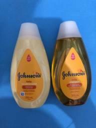kit shampoo e condicionador johnson