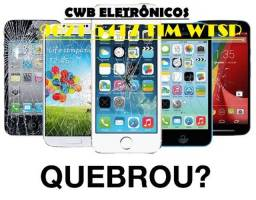 Celular quebrou? Tela/ bateria p/ Iphone/ Motorola/ Samsung/ Xiaomi etc Com Garantia
