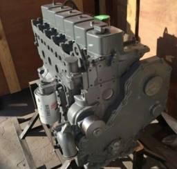Motor Cummins 6 cilindros completo em perfeito estado