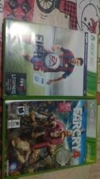 Dois jogos originais de Xbox 360