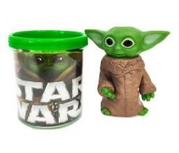 Boneco Baby Yoda Star Wars Figure + Caneca Personalizada- Rf Informatica