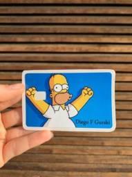 Adesivos de Cartão Personalizados