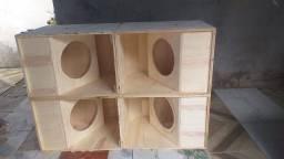 Fabricamos caixas de som.