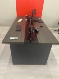 Título do anúncio: Mesa escritório com divisórias