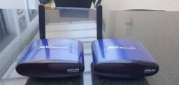 Transmissor de áudio e vídeo wireless