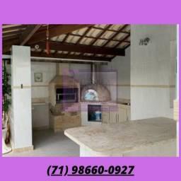 Título do anúncio: Linda casa 3/4 - 3 suítes - 185m² - piscina - churrasqueira - Itapuã