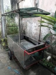 Título do anúncio: Vende-se carrinho para venda de alimentos