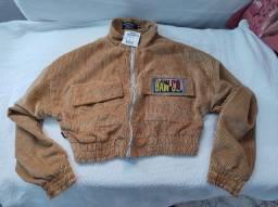 Título do anúncio: Jaqueta Em Veludo Caramelo Baw Clothing Unissex (M)