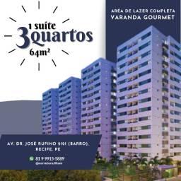 Título do anúncio: Apartamentos no Barro - 3 Quartos