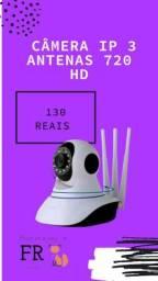 Camêra IP robô 3 antenas / via WiFi / 3 antenas/ visão noturna