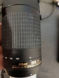 Título do anúncio: Lente Nikon 70-300