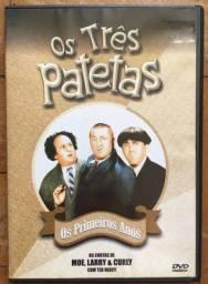 DVD OS TRÊS PATETAS