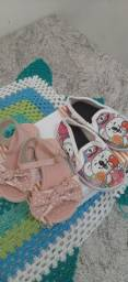Combo 1 sandalia + 1 sapatilha.
