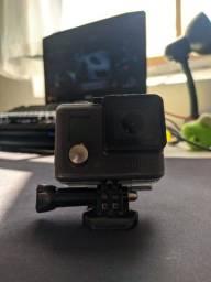 GoPro hero + Acessórios + nota fiscal + caixa original (impecável)
