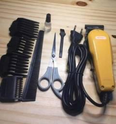 Máquina De Cortar Cabelo Knup Qr-8918