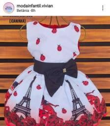 Vestido Ladybug 4 anos