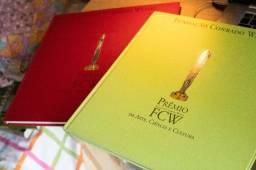 2 Livros - Prêmio Fcw de Arte, Ciência e Cultura
