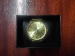 Título do anúncio: Relógio masculino chilli beans army dourado