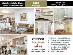 RG(Urca cs1)Casa duplex no Recreio