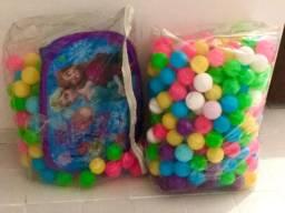 Piscina da frozen original com 300 bolas extras