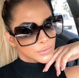 Título do anúncio: Óculos de Sol quadrado Grande feminino de luxo
