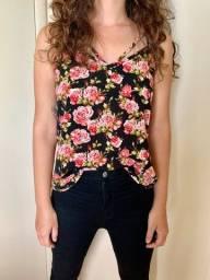 blusa rosinhas