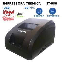 Impressora Térmica USB 58mm