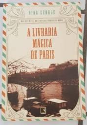 """Livro """"A livraria mágica de Paris"""""""