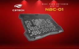 Base refrigeradora para notebook NBC-01  C3 Plus