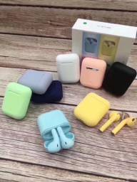 Fone Bluetooth  In pods 12 coloridos 60,00