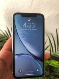 Título do anúncio: iPhone XR bateria 90% impecável